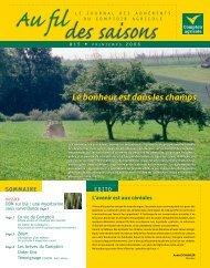 Fil Des Saisons #15 Printemps 2006 - Comptoir Agricole