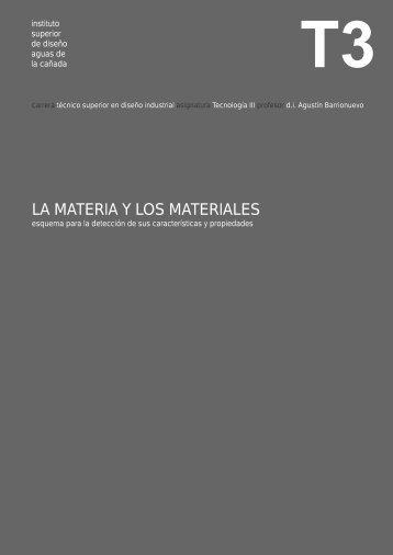 la materia y los materiales.cdr