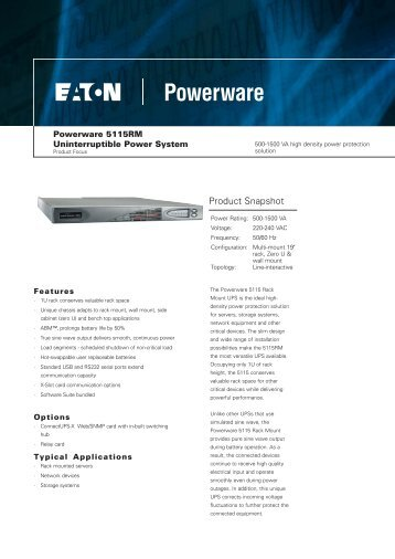 5115RM Brochure Rev 1.indd - Zone Technology