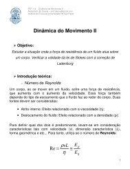 Dinâmica do Movimento II - Plato