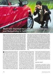 Noch kein Standard bei Luftdruckwarnsystemen ... - Reifenpresse.de