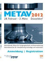 METAV - Messe Düsseldorf