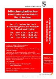 Mönchengladbacher - Regionale Bildungsnetzwerke