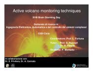 Active volcano monitoring techniques - Phd.dees.unict.it