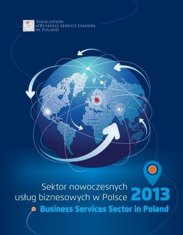 Sektor nowoczesnych usÃ…Â'ug biznesowych w Polsce 2013