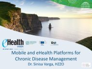 Mobile and eHealth Platforms for Chronic ... - World of Health IT