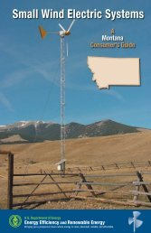 Small Wind Electric Systems: A Montana Consumer's Guide - NREL
