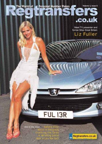 Liz Fuller - Number Plates