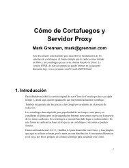 Cómo de Cortafuegos y Servidor Proxy