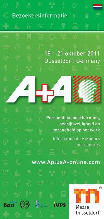 www.AplusA-online.com Bezoekersinformatie 18 – 21 oktober 2011 ...