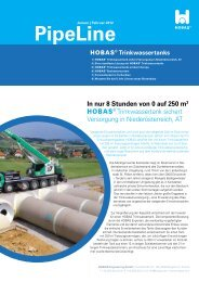 PipeLine - Hobas Rohre GmbH