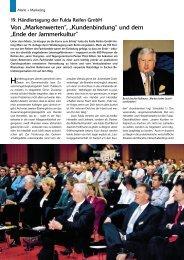19. Händlertagung der Fulda Reifen GmbH 3/2002 - Reifenpresse.de
