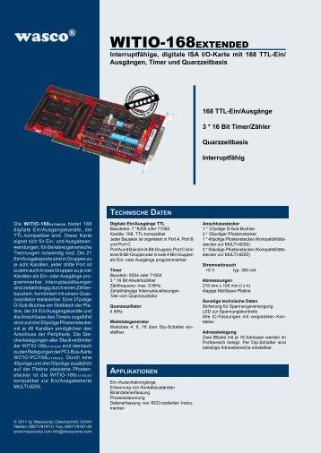 Datenblatt als PDF - Messcomp Datentechnik GmbH