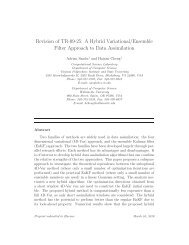 A Hybrid Variational/Ensemble Filter Approach to Data Assimilation