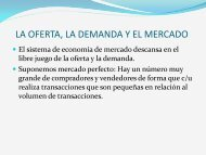 LA OFERTA, LA DEMANDA Y EL MERCADO - Bligoo.com