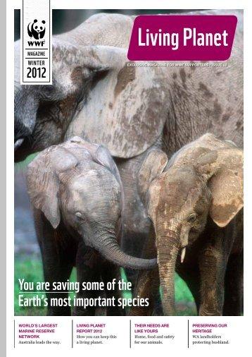 Living Planet - Issue 22 - Winter 2012 - wwf - Australia