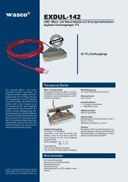 steckerbelegung anschlusstechnik ... - Messcomp Datentechnik GmbH
