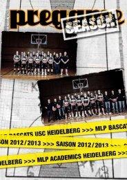 Preseason Magazin 2012/2013 - USC Heidelberg