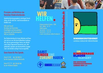 dksb flyer ksd aussen kurven.cdr - Deutscher Kinderschutzbund ...