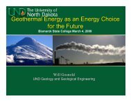 Geothermal Energy as an Energy Choice for the Future