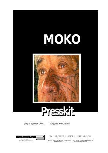 Moko Press Kit - New Zealand Film Commission