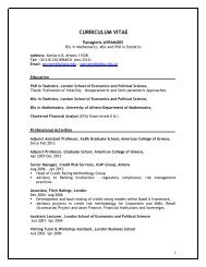 Panagiotis AVRAMIDIS - ALBA Graduate Business School