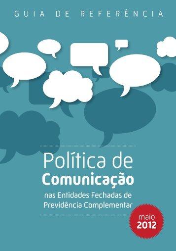 Política de Comunicação nas EFPCs - Portal Abrapp