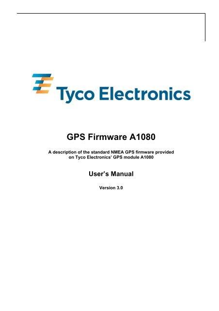 GPS Firmware A1080 - Open GPS Tracker