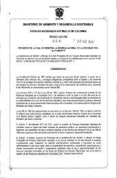 RESOLUCION 064 - 2012 - Parques Nacionales de Colombia