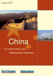NEUE REIFENZEITUNG Extrabeilage/China  ... - Reifenpresse.de