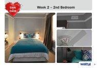 Week 2 – 2nd Bedroom - Wattyl