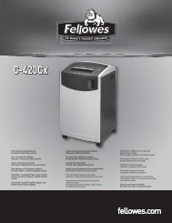 C-420Cx C-420Cx - Fellowes