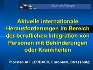 Referat Thorsten Afflerbach - internationaler reha kongress 2010