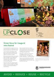 Cellar Door Wine Festival at the Adelaide Convention Centre
