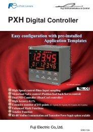 PXH Digital Controller - Fuji Electric Corp. of America