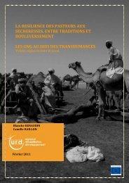 Résilience des pasteurs face aux sécheresses, entre ... - Groupe URD