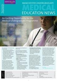education news - School of Medicine - The University of Manchester