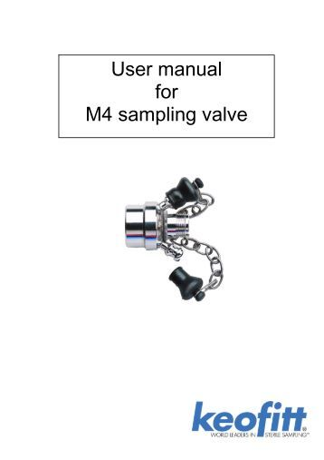 PASVE SC/SF/SH/SP/ST Sampling Valve