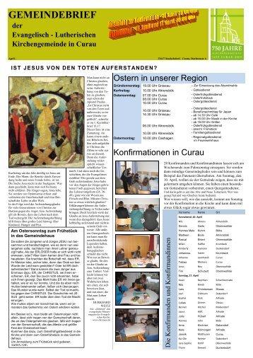 Ostern/ Konfirmation 2011 - Sehlendorf.de