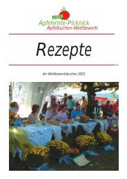 die Rezepte 2003.pdf - Obstgut Klosterberg