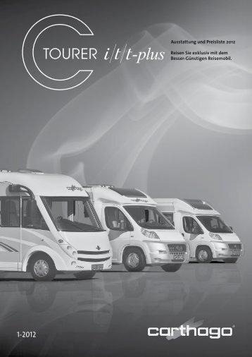 Preisliste 2012 Carthago C-Tourer - Reisemobile Berens
