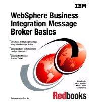WebSphere Business Integration Message Broker ... - IBM Redbooks