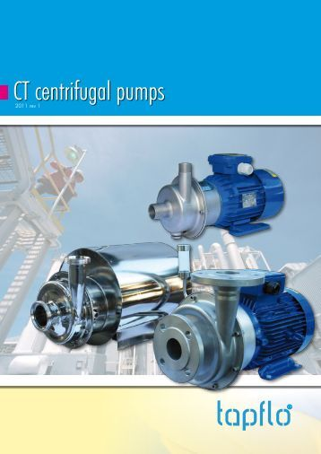 CT centrifugal pumps - Tapflo