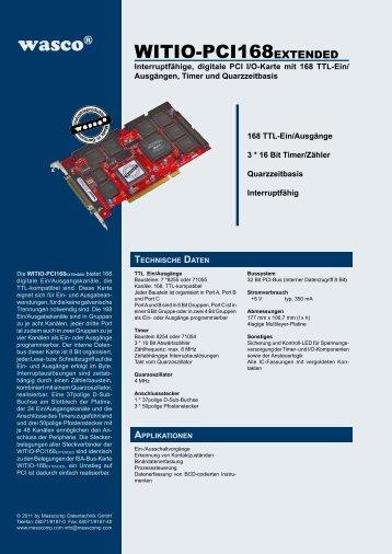 technische daten - Messcomp Datentechnik GmbH
