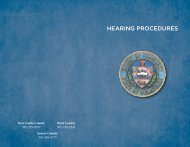 Hearing Procedures Brochure - Delaware State Courts
