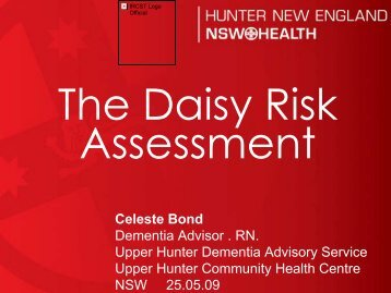 The Daisy Risk Assessment