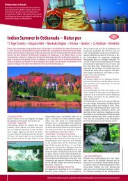 Indian Summer in Ostkanada – Natur pur