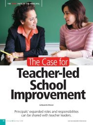 The Case for Teacher-led School Improvement - National ...