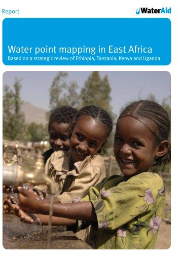 Water point mapping in East Africa - WaterAid