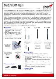 Touch Pen 200 Series